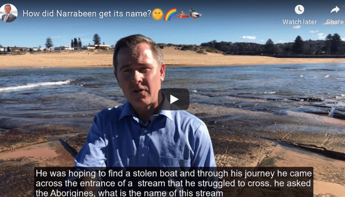 How did Narrabeen get its name?