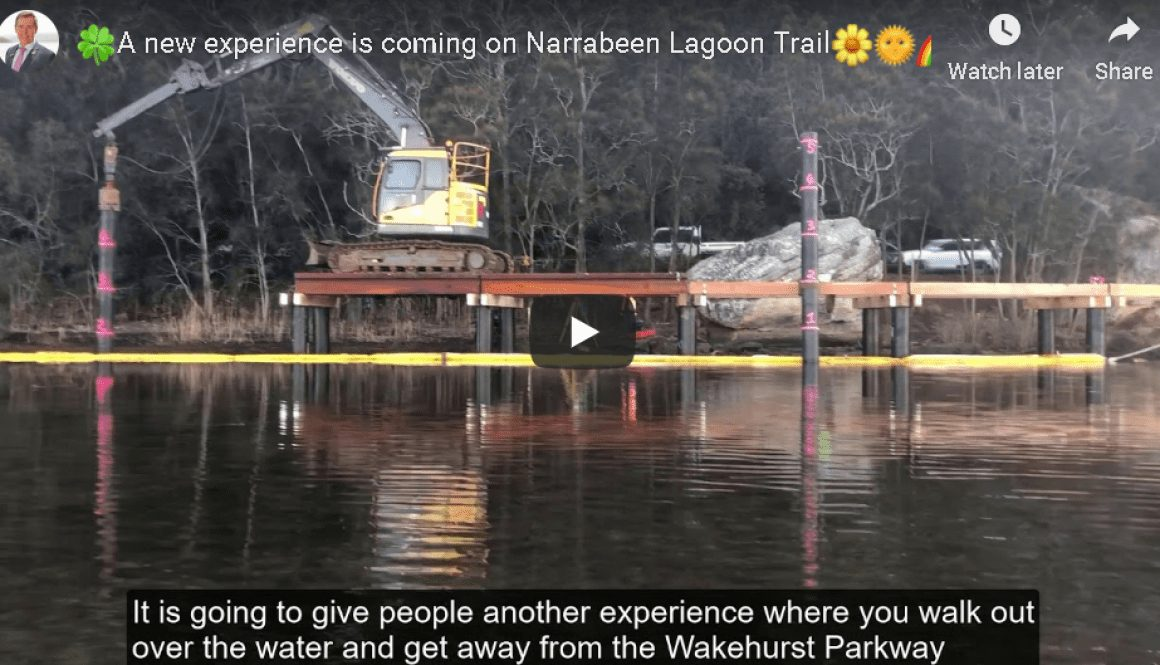 A new experience is coming on Narrabeen Lagoon Trail