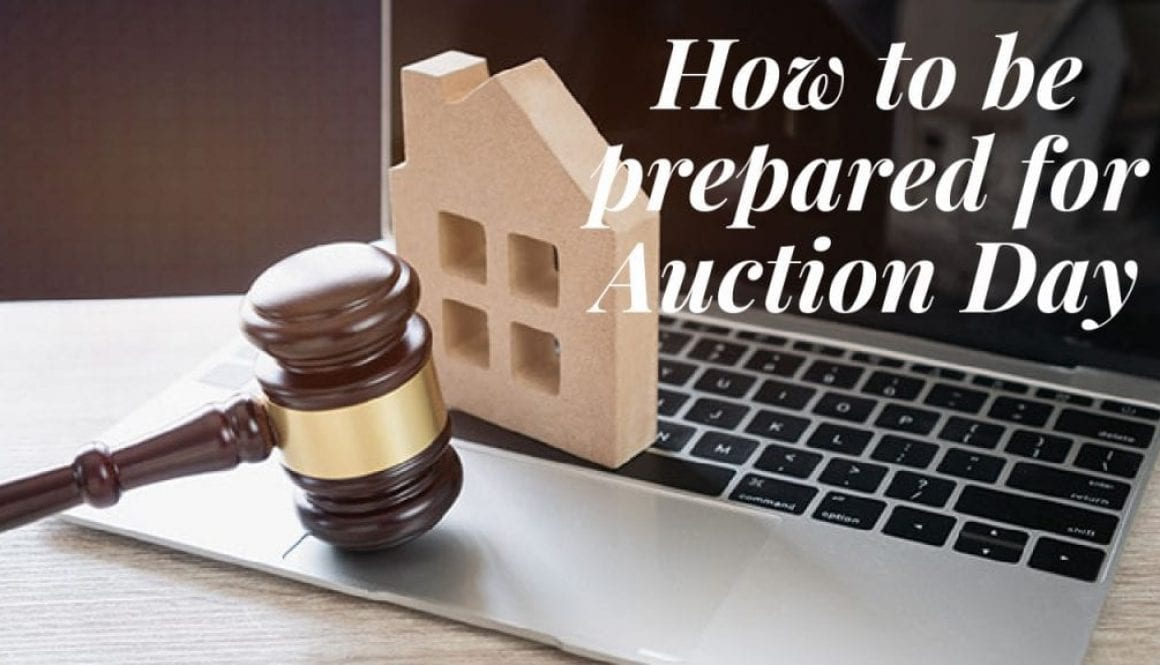 How to be prepared for Auction Day - Grant Matterson